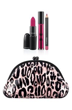 MAC 'Primped Out - Luxurious Pink' Lip Look Bag #Nordstrom #Lipstick #Holiday #Gift