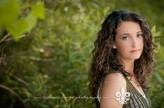 Seniors by Renee Bowen, via Flickr    http://www.reneebowen.com  800-957-1684    MUA: @Jami Cox  #green #curlyhair