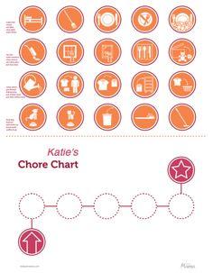 chore chart graphics