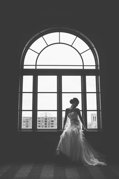 Black/White Bride by