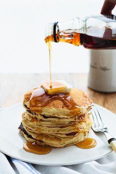 Fluffy PANCAKES Not From a Box | http://www.buzzfeed.com/emofly/best-buttermilk-pancake-recipe
