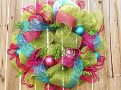 Love Bright and colorful Christmas things! Cute for Easter