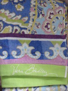 VB Capri Blue Towel - retired