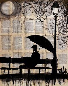 "Saatchi Online Artist: Loui Jover; Ink 2013 Drawing ""reminisce(SOLD)"""