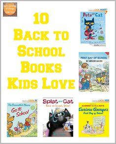 10 Back To School Books Kids Love