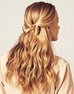 """""""hair"""" bow."""