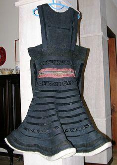 Tropoja Xhubleta, Woman's Costume, Northern Albania by David, via Flickr / big pic