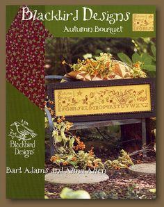 BlackBird Designs (Cross_stitch) Autumn Bouquet