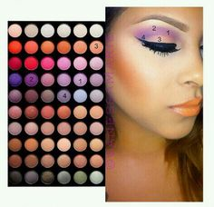 This palette is the bh cosmetics 5th edition palette