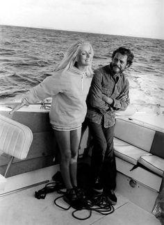 Catherine Deneuve and Marcello Mastroianni.