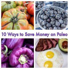 10 ways to save money on Paleo