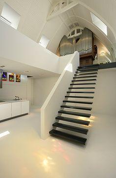 Church of Living, Utrecht - residential conversion  .  #architecture #design #residential #interior #conversion #repurpose