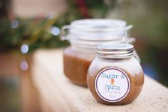 DIY Gingerbread Brown Sugar Lip Scrub & Body Scrub - Great DIY gif for the holidays!