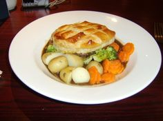delicious steak and ale pie served up at The Wide Mouthed Frog near ...