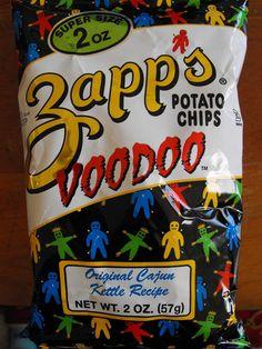 My favorite chips/crisps... formerly called Zapp's Voodoo Gumbo.