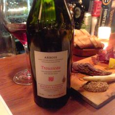 This Gahier Trousseau was so feral and wild, and completely perfect with the charcuterie. Around $33.