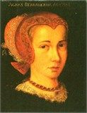 Portrait of Agda Persdotter. Agda was the mistress of Eric XIV from 1558 until 1565. They had four daughters together.