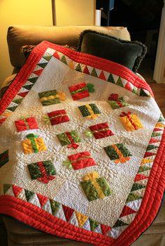 Christmas -presents Block Tutorial --This is so CUTE!!!!