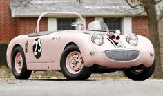Think pink! Donna Mae Mims championship-winning Sprite heads to auction!!! ~ needs a bit of bling :)
