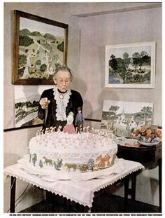 Grandma-Moses-88th-Birthday-1948-