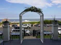 Wedding Ceremony at The Breakers, Spring Lake NJ.