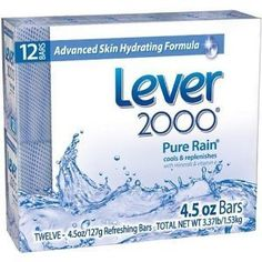 Lever 2000 Moisturizing Bar, Pure Rain, 4.5-Ounce Bars in 12-Count Packages (Pack of 4) =48 Bars . $79.99