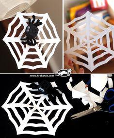 Как да си направим паяжина