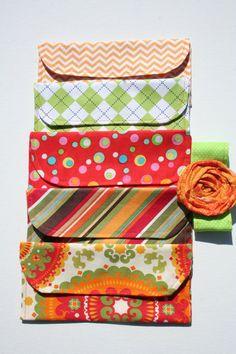 Cash Envelopes Budgeting Dave Ramsey Fabric Reusable by KrinkleKut