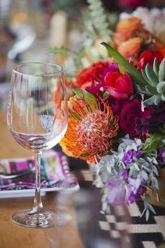 Modern Mexican wedding inspiration: http://www.stylemepretty.com/little-black-book-blog/2014/08/01/modern-mexican-wedding-inspiration/   Photography: http://lunaphoto.com/#home/