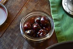 Spiced Rum Cherries made with Kraken