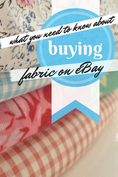 What you need to know about buying fabric on eBay