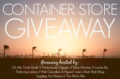 $200 Container Store Gift Card Giveaway