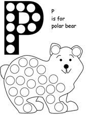 Polar Bear Magnet Page.  To learn how to use them follow the link.  From Making Learning Fun.