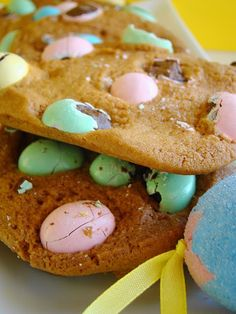 Easter Cookies... Mmm this looks good