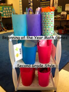 Beginning of the Year Math Games - Second Grade Style
