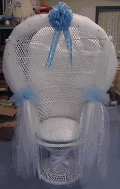 baby shower chair rental boy