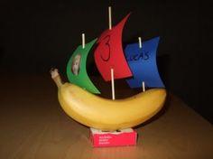 gezonde bananenboot traktatie Door ielleboe