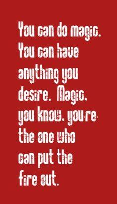 You can do magic music