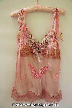 Trofeny Gypsy Style Silk Camisole in shades of by RagsForGypsies, £65.00