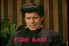 Phil Hartman SNL - Fire bad!