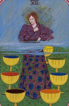 Seven of Cups - Spiral Tarot