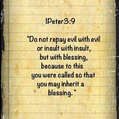 Blessing.....
