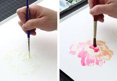 watercolor techniqu