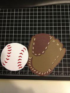 For Christian's baseball scrapbook. Cricut, sports mania.