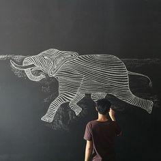// Elephant art