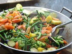 Pinakbet: a medley of Filipino vegetables from the northern Ilocos region.