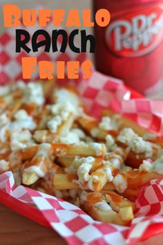 Buffalo Ranch Fries