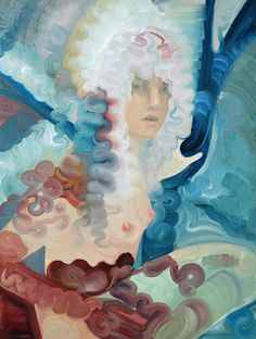 Paintings by artist Jen Mann