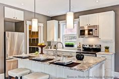 Tips for updating a kitchen on a budget. One day I'll be glad I pinned this!- Cabinet idea