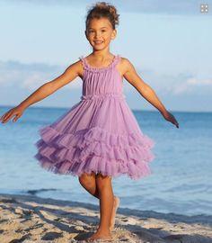 pretty lavender dress